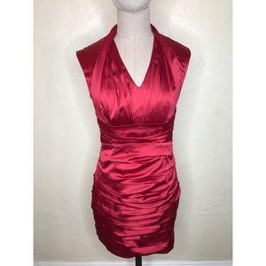 Express pleated silk dress size 2